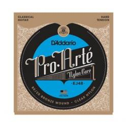 D'Addario Pro Arte EJ48 Bronze Hard Tension