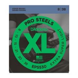 D'Addario EPS530 8-38  Pro Steels