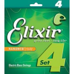 Elixir 14077 Nanoweb 45-105 Light/Medium Long Scale