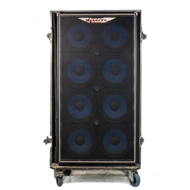 Ashdown Abm 810 Bass Cabinet 1200w 4 Hm Flight Case